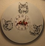 Clock Tribal Cats.JPG