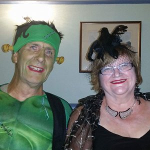 Halloween at Glasson Dock meet