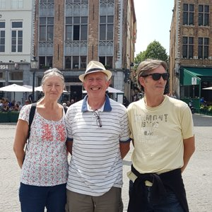 Linda, Alan and Paul in Bruges.jpg